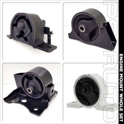 For 2000-2006 Nissan Sentra 1.8L Automatic GXE XE CA Auto Engine Motor Mount Set