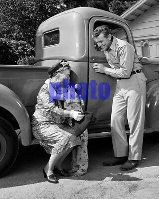 the ANDY GRIFFITH SHOW #7,andy griffith,frances bavier,8x10 photo