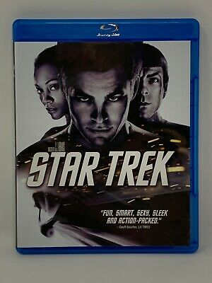Star Trek (2009) Blu-Ray Buy 5 Get 1 Free! Pay $3 Shipping Once!