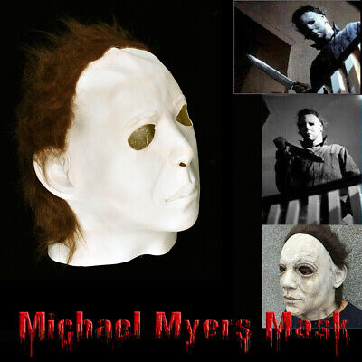 Halloween Michael Myers 1978 Latex Mask Cosplay Trick or Treat Scary Film New US