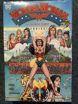 WONDER WOMAN by George Perez VOL #1 OMNIBUS HARDCOVER 640 PGS DC Comics HC