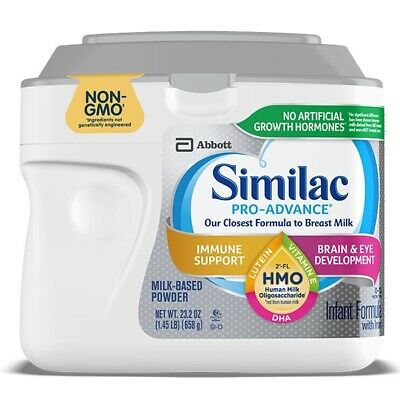 Similac Pro-Advance infant formula, 23.2 Oz EXP. 6/20/21