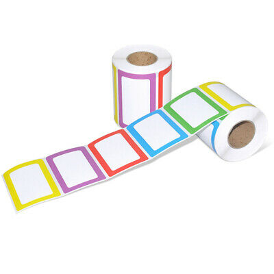 1 Roll Name Stickers Handwriting Self-adhesive Colorful Envelopes Tags for Home