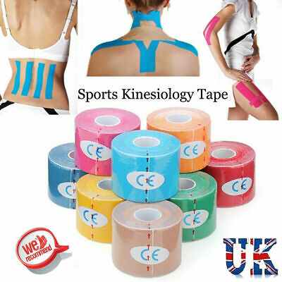 Elastic Sports Tape Medical Physio Muscle Strain PRO Pain Relief KT Kinesiology