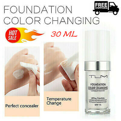 TLM Magic Flawless Color Changing Foundation Makeup Change Skin Tone Concealer