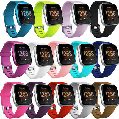 Silicone Sport Band Soft Replacement Strap For Fitbit Versa Lite Smart Watch