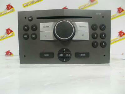 CD PLAYER Vauxhall Astra Stereo Head Unit  & WARRANTY - NCS1192344 - 13 190 856
