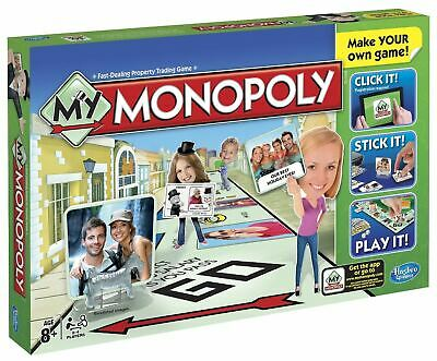 Hasbro My Monopoly( Contents Sealed ) Make Your Own Game Board Christmas,Family