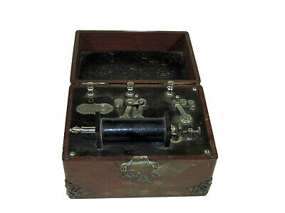 Antique Quack Medical Electrical Device Portable Physician's Faradic Battery
