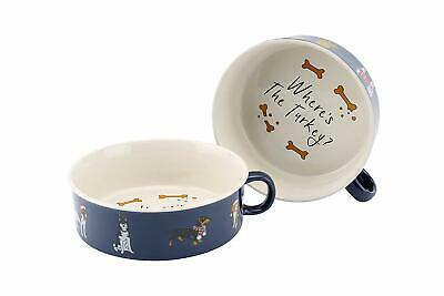 CGB Giftware Where's The Turkey Christmas Dog Bowl - Pet Home Accessories
