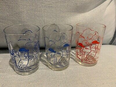 Group Of Three ETA Peanut Glasses