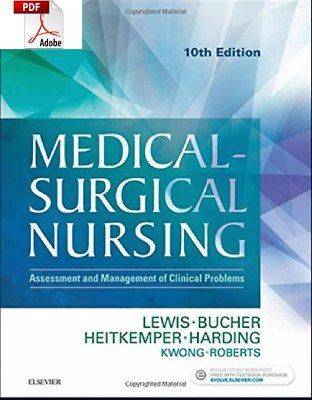 Medical Surgical Nursing 10th Edition [  P.D.F By E-maiL ]
