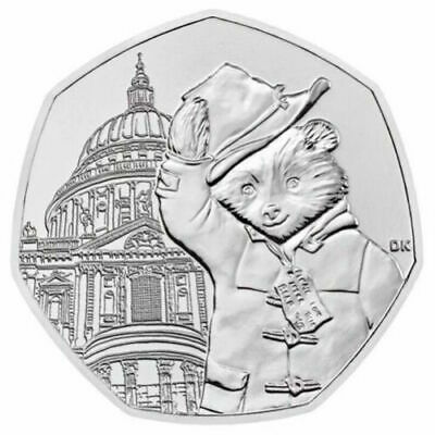 New 2019 Paddington Bear at St.Pauls Cathedral 50p Uncirculated