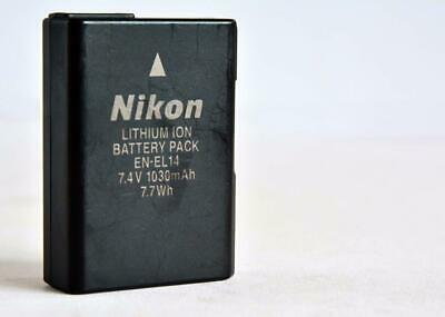 One Original Genuine NIKON EN-EL14 batterey (D3200 D5100 D5200 D5300 D3300)