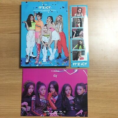K-POP ITZY 1st Mini Album IT'Z ICY CD Package + Pre-order Gift [NO Photocard]