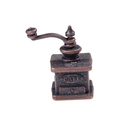 1/12 Dollhouse Miniature Kitchen Vintage Coffee Grinder For Doll Gift_$T