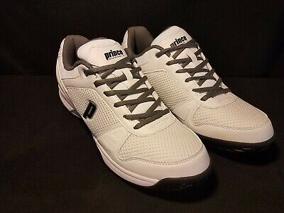 New Prince Advantage Lite Mens 12 Tennis Shoes Sneakers White/Charcoal