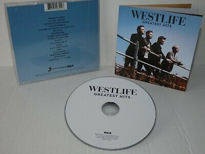 Westlife - Greatest Hits (18 track CD album)