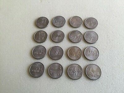 USA State Quarters 1999 to 2008 Philadelphia Mint Choose From List