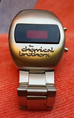 The Chemical Brothers - Bezel Vintage Electronic Wrist Watch 1990's