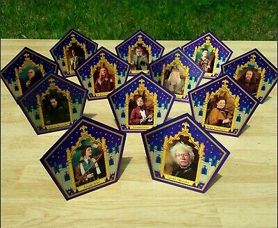 Harry Potter ☆☆☆THE COMPLETE CHOCOLATE FROG CARD SET☆☆☆