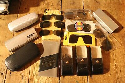Glasses Cases And Glasses Clip On Polarized Shades Job Lot Collection