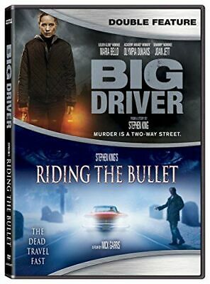 Big Driver / Stephen King's Riding The Bullet New Dvd