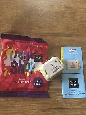 ms little shop collectables Eggs Six Large British Box Of Eggs