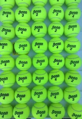 100 used USTA TOURNAMENT BALLS  PLAYED ONLY ONCE --  PREMIUM Quality