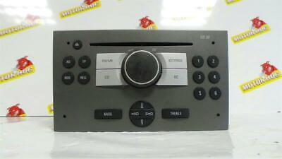 CD PLAYER Vauxhall Vectra Stereo Head Unit  & WARRANTY - NCS1192047 -