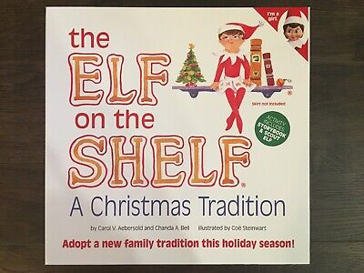 NEW! The Elf on the Shelf *GIRL* A Christmas Tradition with Book