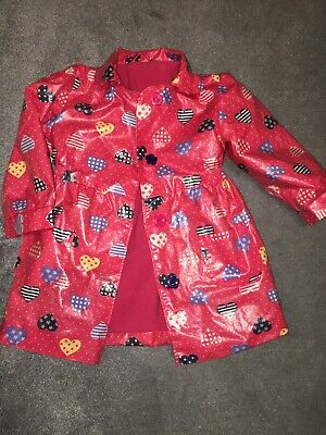 Early Days Girls Rain Coat With Fleece Inside Size 1-1.5 Years Old Lovely Desing
