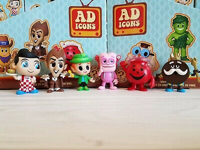 Funko Ad Icons Mystery Minis LOT of 6 Frankenberry + Lucky Leprechaun + 4 More!