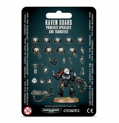 Warhammer 40k Space Marines Raven Guard Primaris Upgrades and Transfers NEW