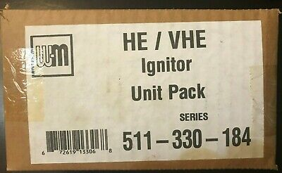 New!  Weil McLain 511-330-184 Ignitor Unit Pack