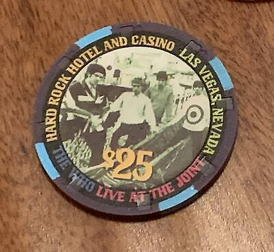 Hard Rock Las Vegas $25 Casino Chip - The WHO 2002 - GREAT Looking Chip !!!