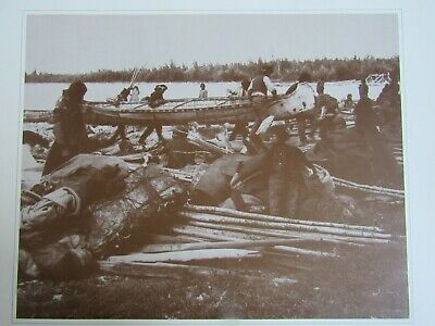 1800'S Northern Canadian Aboriginal Great Slave Lake Photo Print 14 X 11