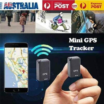 Magnetic Mini GPS Real Time Car Locator Tracker GSM/GPRS Tracking Device AU
