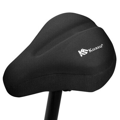Mountain Bike Race Saddles Black Sunlite Bicycle Lycra Seat Cover for Road