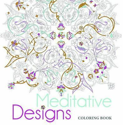 Meditative Designs Coloring Book