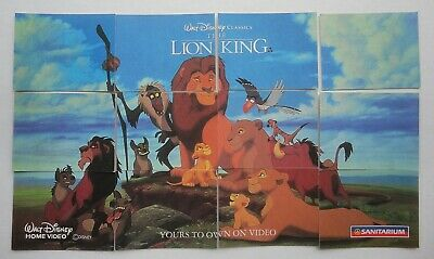 THE LION KING - Walt Disney Classics Set 12 Sanitarium weetbix cards 1995
