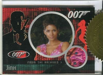 James Bond Dangerous Liaisons Halle Berry Costume Card CC6