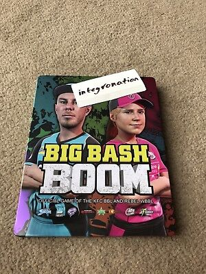 Big Bash Boom Steelbook CASE ONLY for Xbox One PS4 Australia Exclusive (New)