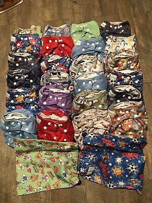 Used Baby Cloth Nappy Collection
