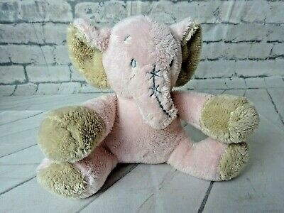 """Card Factory -  Tiny Treasures -  Comforter Soft Toy -  Pink Elephant 8"""""""