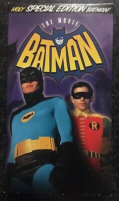 Batman The Movie VHS 1966 Leslie H Martinson 1994 Holy Special Edition Cardboard