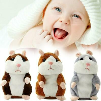 Hamster Repeats What You Say Electronic Talking Plush Toy Cute Gift Recording