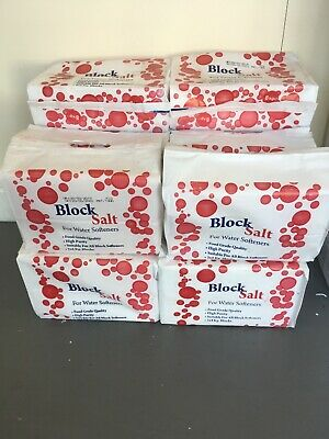 SALT Blocks 2 X 4kg Per Bag Water Softener