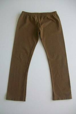 sg Persnickety Brown Fall Crop Leggings 7 EUC
