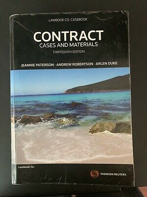 Contract: Cases and Materials 13th Edition (Thomson Reuters Legal)